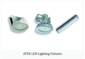 Atex LED lighting fixtures