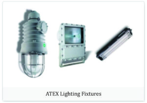 Atex lighting fixtures